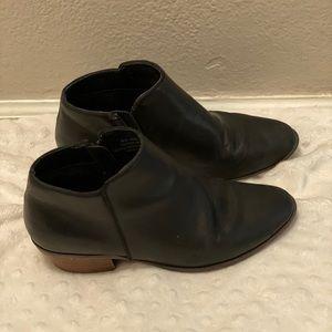 Crown Vintage Leather Booties